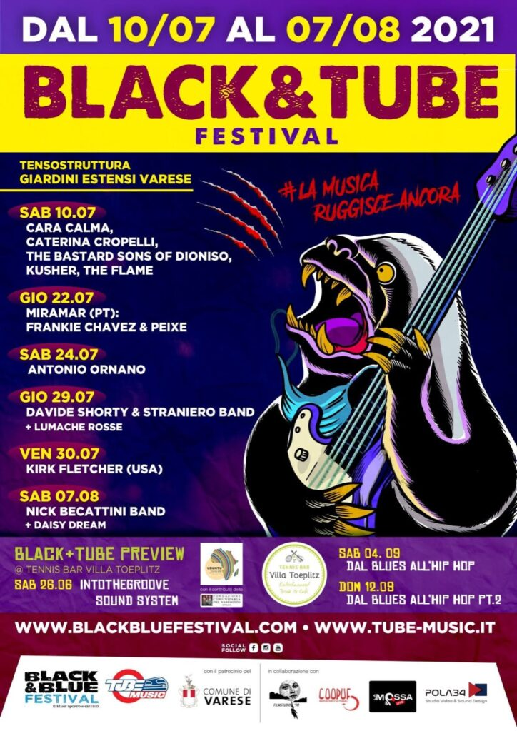 black blue festival 2021